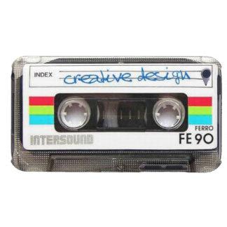 Caixa de IPod 4 da cassete de banda magnética Capa Para iPod Touch