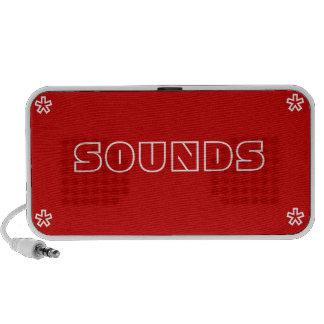 Caixa de música dos sons caixinha de som de viagem