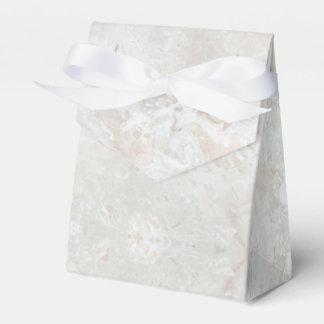 Caixa de pedra do favor do mármore do teste padrão