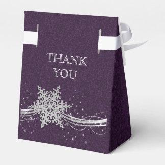caixa de prata roxa do favor do casamento no caixinha de lembrancinhas para festas