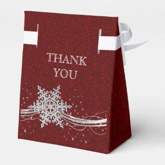 caixa de prata vermelha do favor do casamento no caixinhas de lembrancinhas para casamentos