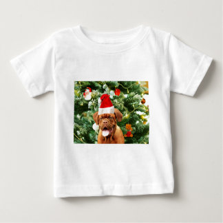 Caixa de presente do boneco de neve da árvore de t-shirt