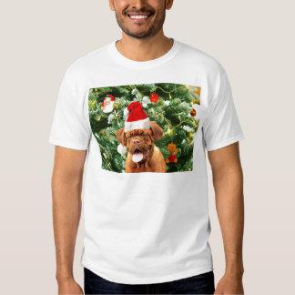 Caixa de presente do boneco de neve da árvore de t-shirts