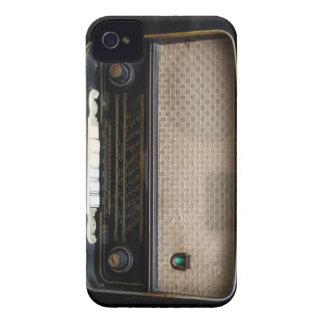 Caixa de rádio velha de Blackberry do vintage Capa Para iPhone 4 Case-Mate