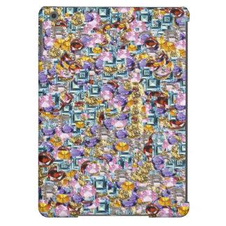 Caixa do ar de Bling Ipad Capa Para iPad Air