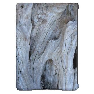 Caixa do ar do iPad do design da foto da madeira Capa Para iPad Air