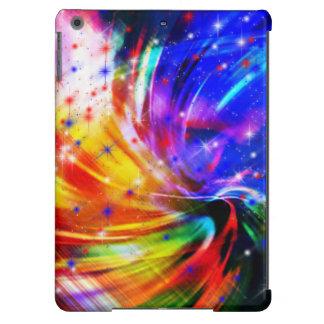 Caixa do ar do iPad do redemoinho da cor da Capa Para iPad Air