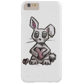 Caixa do coelho do amor capas iPhone 6 plus barely there