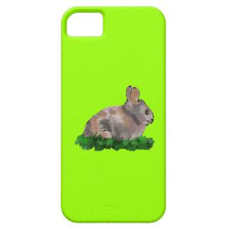 Caixa do coelho IPhone5 de Brown Capa Barely There Para iPhone 5