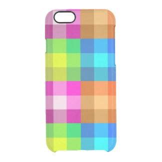 Caixa do defletor do iPhone 6s da xadrez do Capa Para iPhone 6/6S Clear