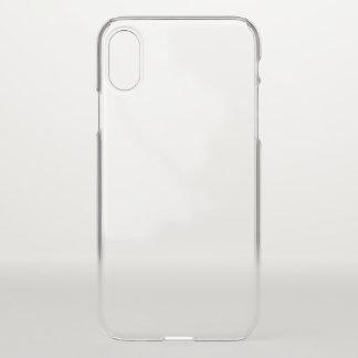 Caixa do defletor do iPhone X Clearly™ de Apple Capa Para iPhone X
