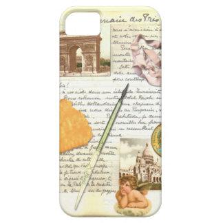 Caixa do diário iPhone5 de Paris Capa Para iPhone 5