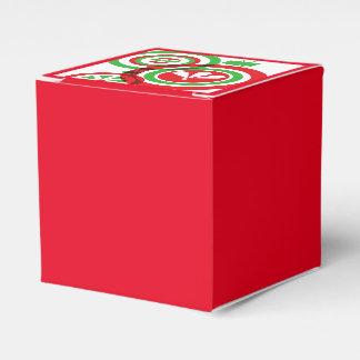Caixa do favor do Natal Caixinha De Lembrancinhas