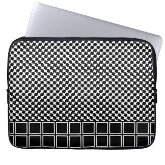 Caixa do laptop da modificação Houndstooth Capas Para Notebook