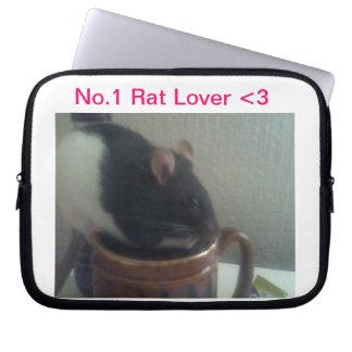Caixa do laptop do amante do rato capas para notebook