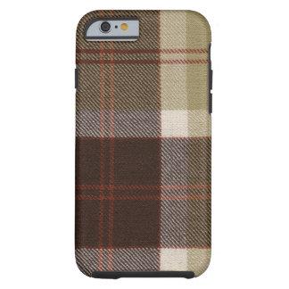 caixa do Tartan de Bannockbane do caso do iPhone 6 Capa Tough Para iPhone 6