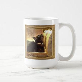 Caixa dourada de /Antique do gato Burmese, série 1 Canecas