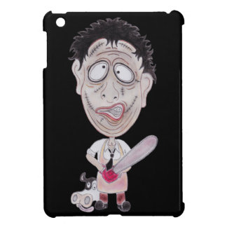 Caixa engraçada da tabuleta da caricatura do capa para iPad mini