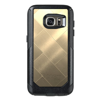 Caixa escovada de Samsung do estilo do ouro