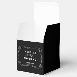 Caixa extravagante do favor do casamento vintage caixinhas de lembrancinhas para casamentos