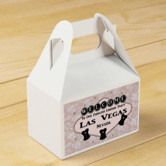 Caixa FABULOSA do favor do FRONTÃO de Las Vegas do Caixinhas De Lembrancinhas Para Casamentos