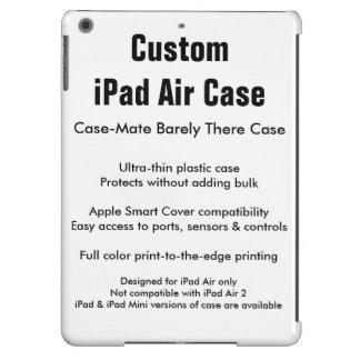 Caixa feita sob encomenda do ar do iPad - case Capa Para iPad Air