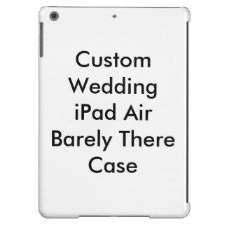 Caixa feita sob encomenda do ar do iPad do casamen