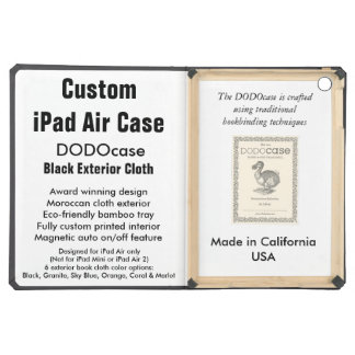 Caixa feita sob encomenda do ar do iPad - fólio de