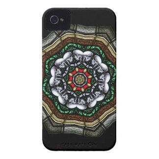 Caixa feliz de Blackberry dos crânios Capas Para iPhone 4 Case-Mate