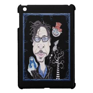 Caixa gótico escura da tabuleta da caricatura dos capa iPad mini