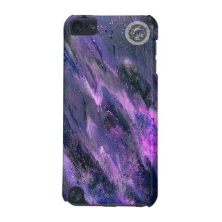 Caixa líquida roxa do ipod touch 5g do camo