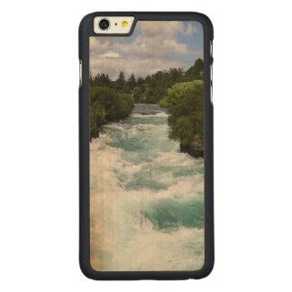 caixa magro positiva da madeira do bordo do iPhone Capa Para iPhone 6 Plus De Carvalho, Carved®