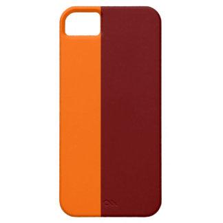 Caixa marrom e da laranja mal lá do iPhone 5 Capa Para iPhone 5