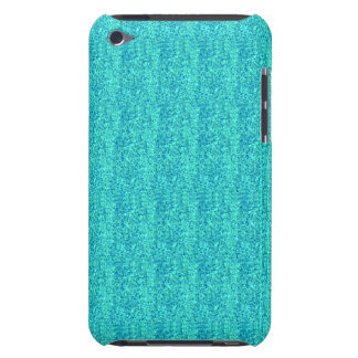 Caixa modelada Sparkly azul do ipod touch 4 Capa Para iPod Touch