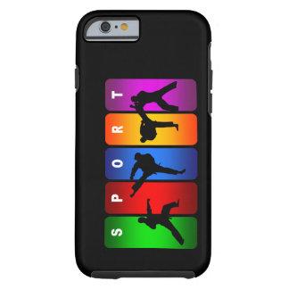 Caixa multicolorido do iPhone 6 do karaté Capa Para iPhone 6 Tough