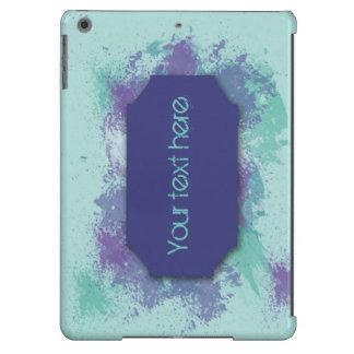 Caixa para o ar do ipad com projeto do respingo capa para iPad air