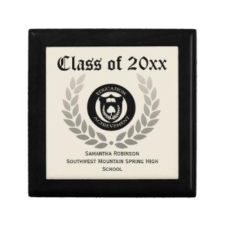 Caixa personalizada da lembrança da graduação, cre caixa de presente