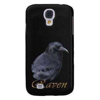 Caixa personalizada nome do telemóvel do CORVO Capas Personalizadas Samsung Galaxy S4