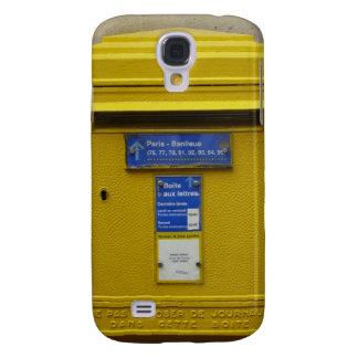 Caixa postal amarela s engraçado galaxy s4 cases