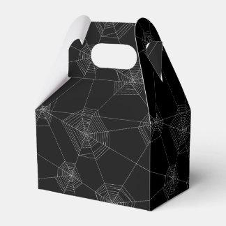 Caixa preta do favor das Web de aranha