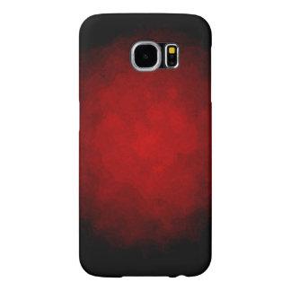 Caixa preta e vermelha da galáxia S6 Capas Samsung Galaxy S6