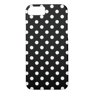 Caixa preto e branco do iPhone 7 das bolinhas Capa iPhone 7
