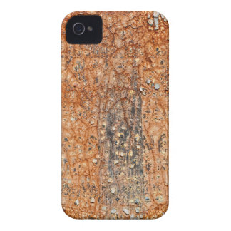 Caixa rachada de Blackberry do vintage do Grunge Capa Para iPhone 4 Case-Mate