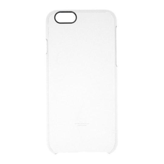 Custom iPhone 6/6s Capa Clearly™ Deflector