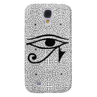 Caixa resistente vívida egípcia do olho & do teste