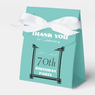 Caixa retro do favor de festa de aniversário do 70 caixinhas de lembrancinhas para casamentos