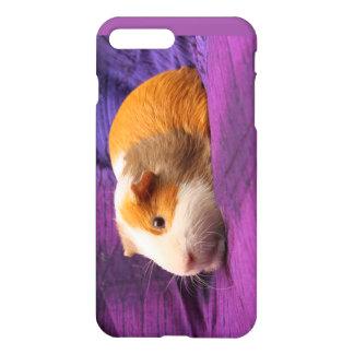 Caixa roxa do telemóvel da cobaia capa iPhone 7 plus