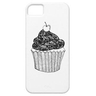 caixa tirada mão do doodle capa barely there para iPhone 5