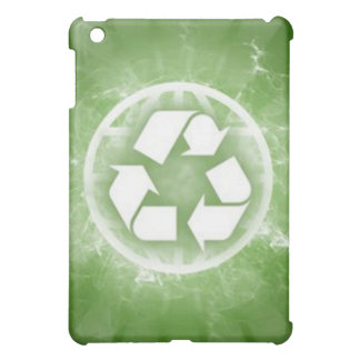 Caixa verde do ipad do reciclar capa iPad mini