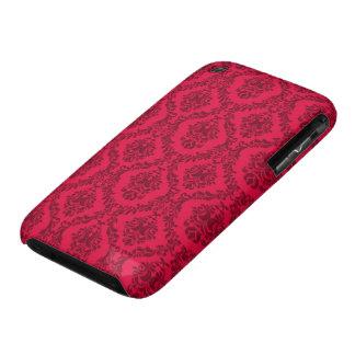 Caixa vermelha do blackberry curve do design do capas para iPhone 3 Case-Mate